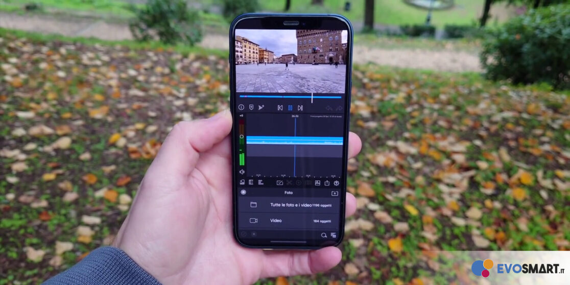 iPhone 12 video editing