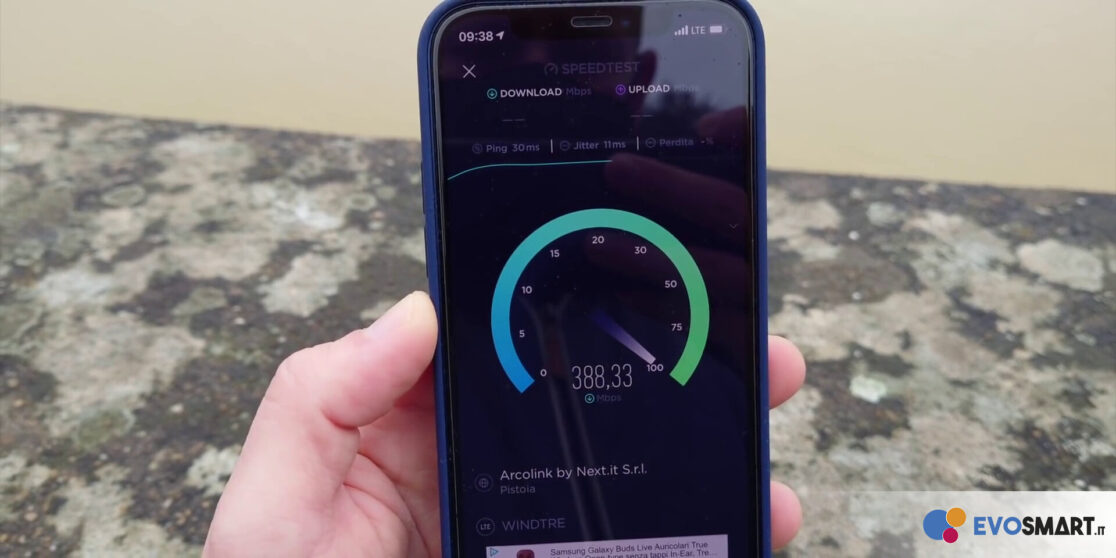 iPhone 12 speedtest
