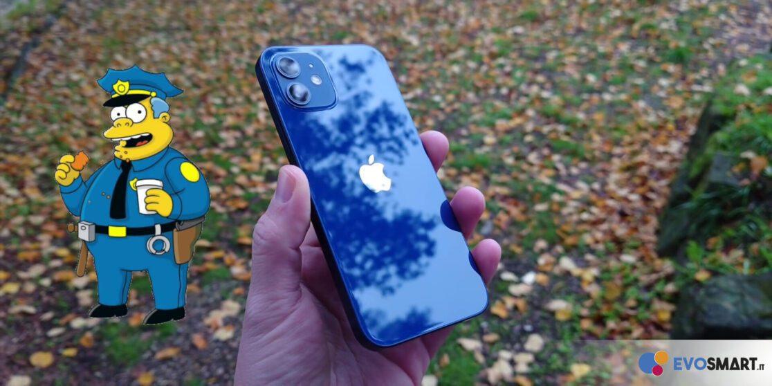 iPhone 12 retro, camera e frame