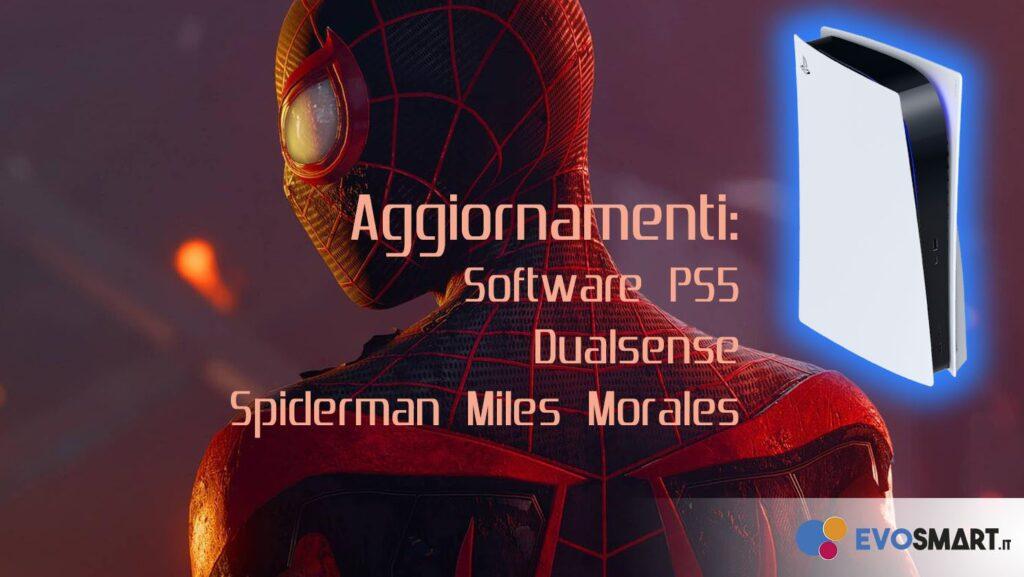 Giro di aggiornamenti per PS5 e novità per Miles Morales