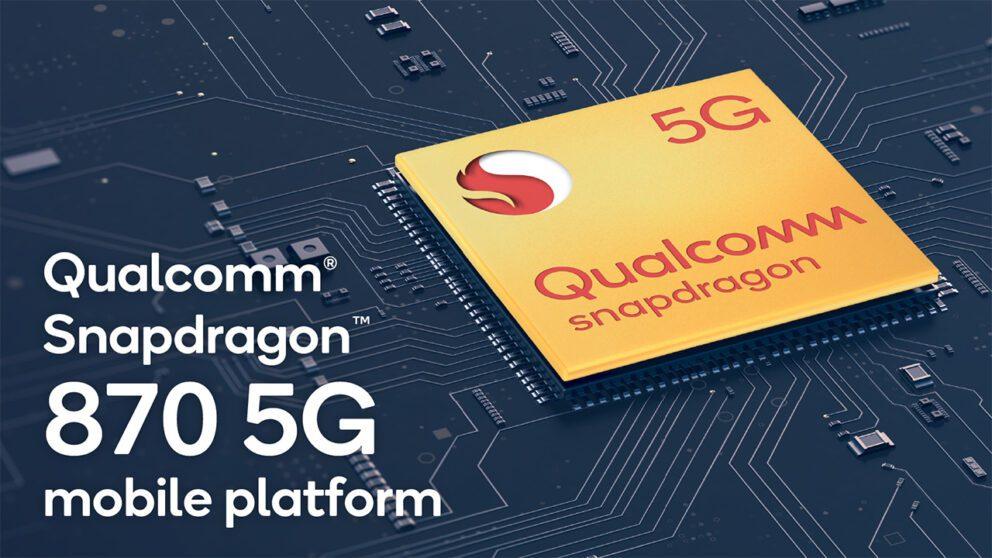 Qualcomm presenta lo Snapdragon 870, un chipset di fascia alta a 7nm