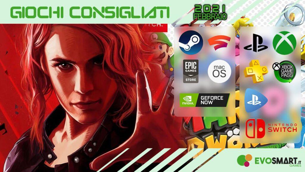 GAMES | I giochi consigliati di Febbraio 2021