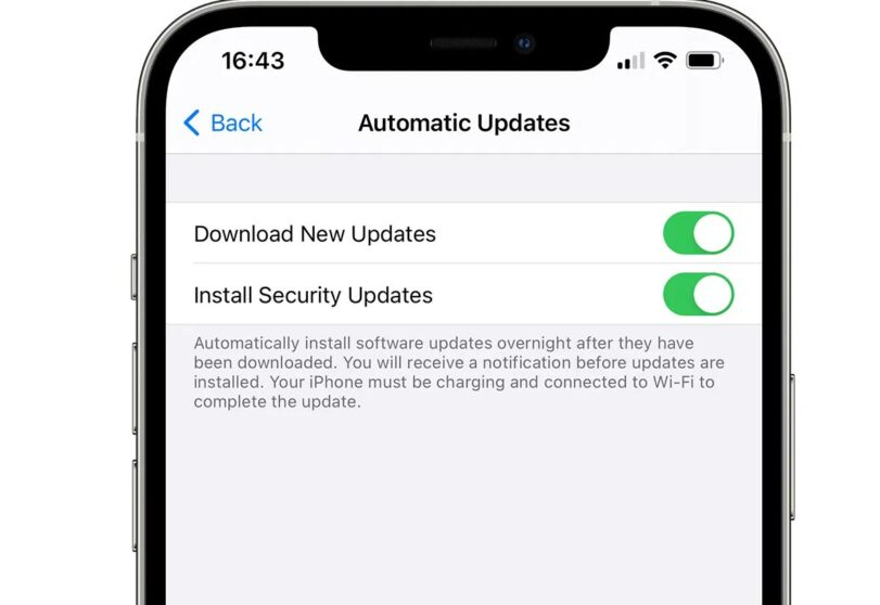 iOS come Android: ipotesi aggiornamenti di sicurezza separati dal sistema operativo