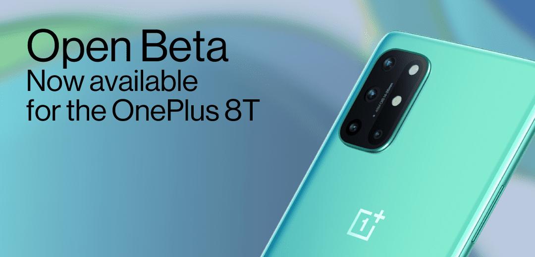 OnePlus inaugura il programma Open Beta per OnePlus 8T