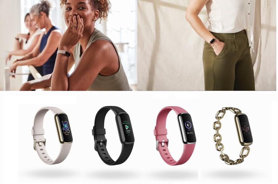 Fitbit presenta Luxe, un tracker alla moda per fitness e benessere
