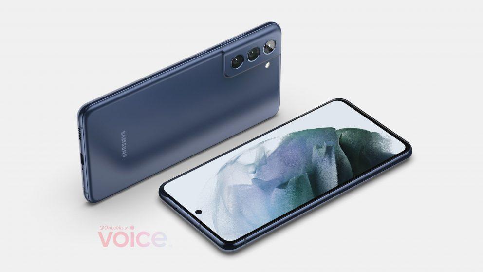 Samsung: svelato in anteprima il design di Galaxy S21 FE