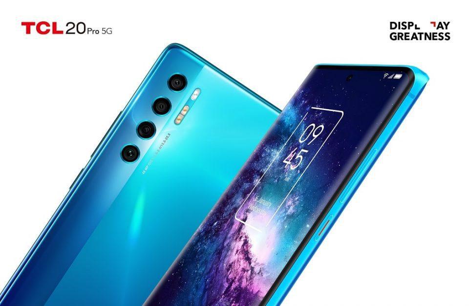 TCL espande l'innovativa linea di smartphone Serie 20 con tre nuovi modelli dotati di display intelligente e design elegante