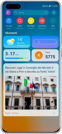 Huawei presenta la nuova versione di Huawei Assistant