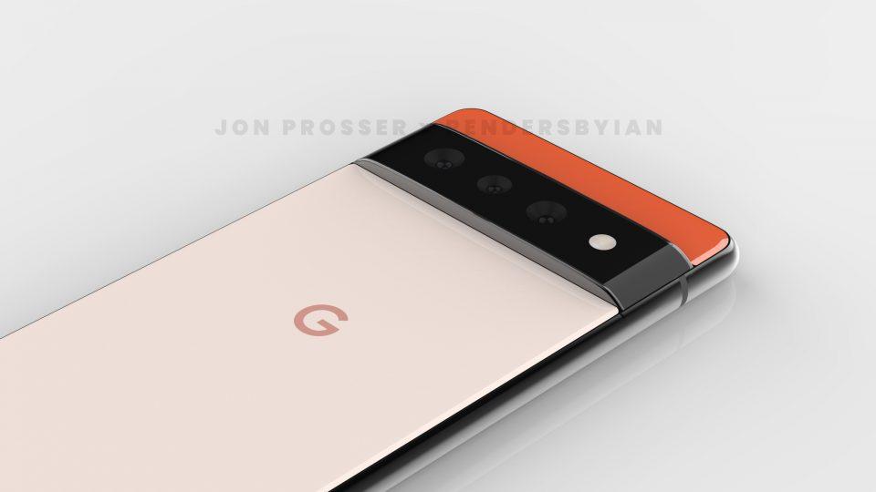 Google Pixel 6 e Pixel 6 Pro: finalmente un nuovo design? (rumor)
