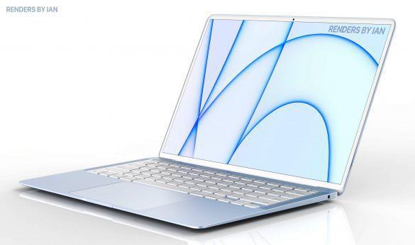 Il nuovo MacBook Air secondo i render di Ian Zelbo   Evosmart.it