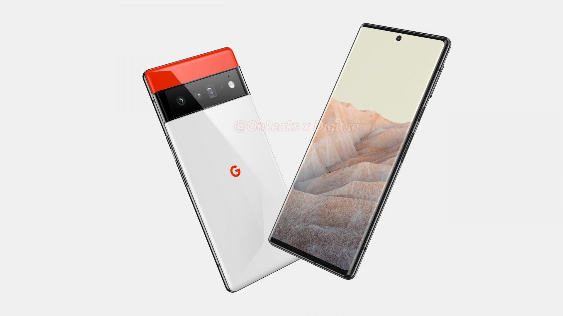Google Pixel 6 Pro: nuovi render ne confermano il design