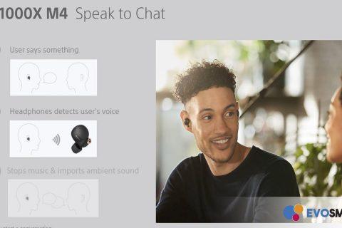 Sony Speak-to-Chat | Evosmart.it