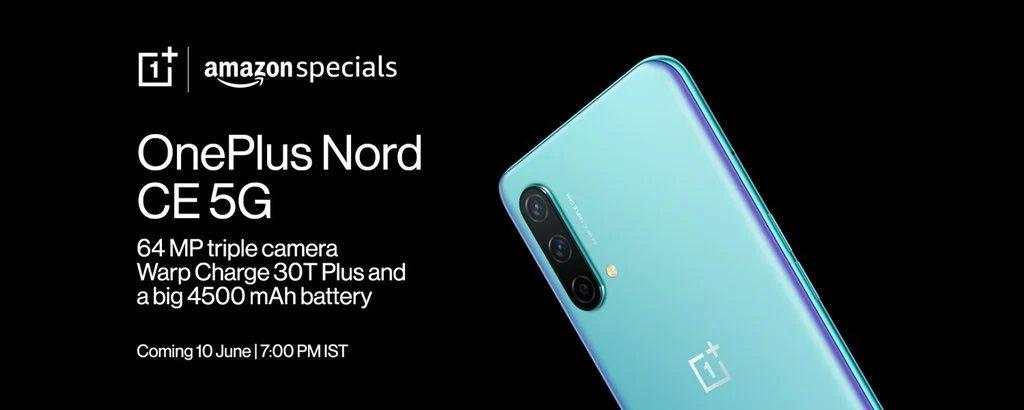 OnePlus Nord CE: Amazon India ne svela prezzo e design a poche ore dal lancio