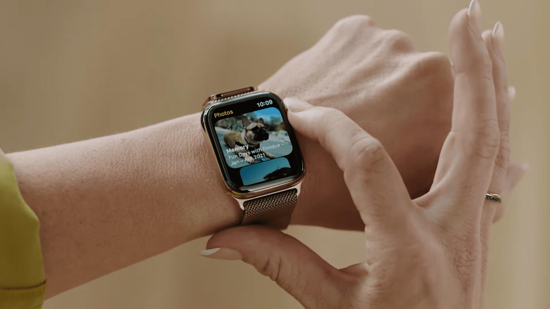 watchOS 8: novità per la salute e l'interazione con le app