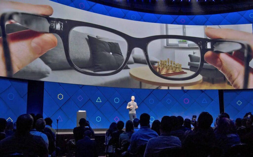occhiali intelligenti Facebook
