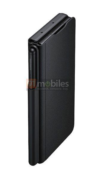 Samsung Galaxy Z Fold3: render ufficiali del case ufficiale con supporto per S Pen   Evosmart.it