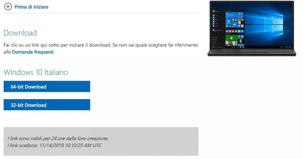 Windows 10: download gratuito e legale dal sito ufficiale