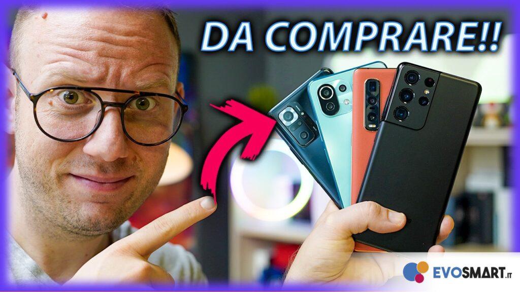 5 Smartphone da comprare
