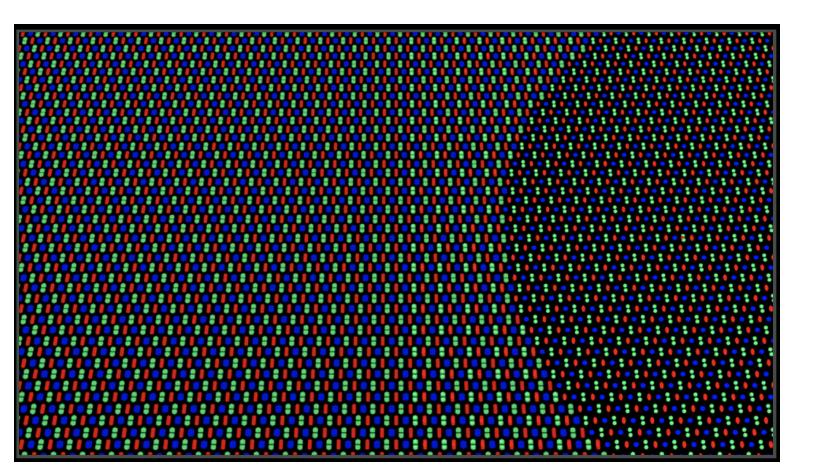 Innovativa geometria dei pixel della fotocamera sotto lo schermo di nuova generazione di OPPO