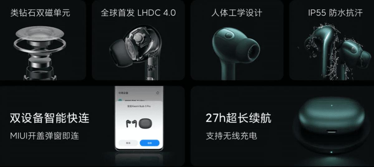 Xiaomi Mi Earphones 3 Pro