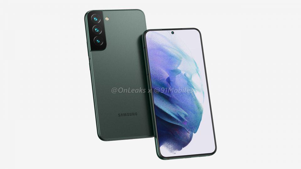 Svelata la lineup completa di Samsung: nuovi render anche per Galaxy S22 e S22+