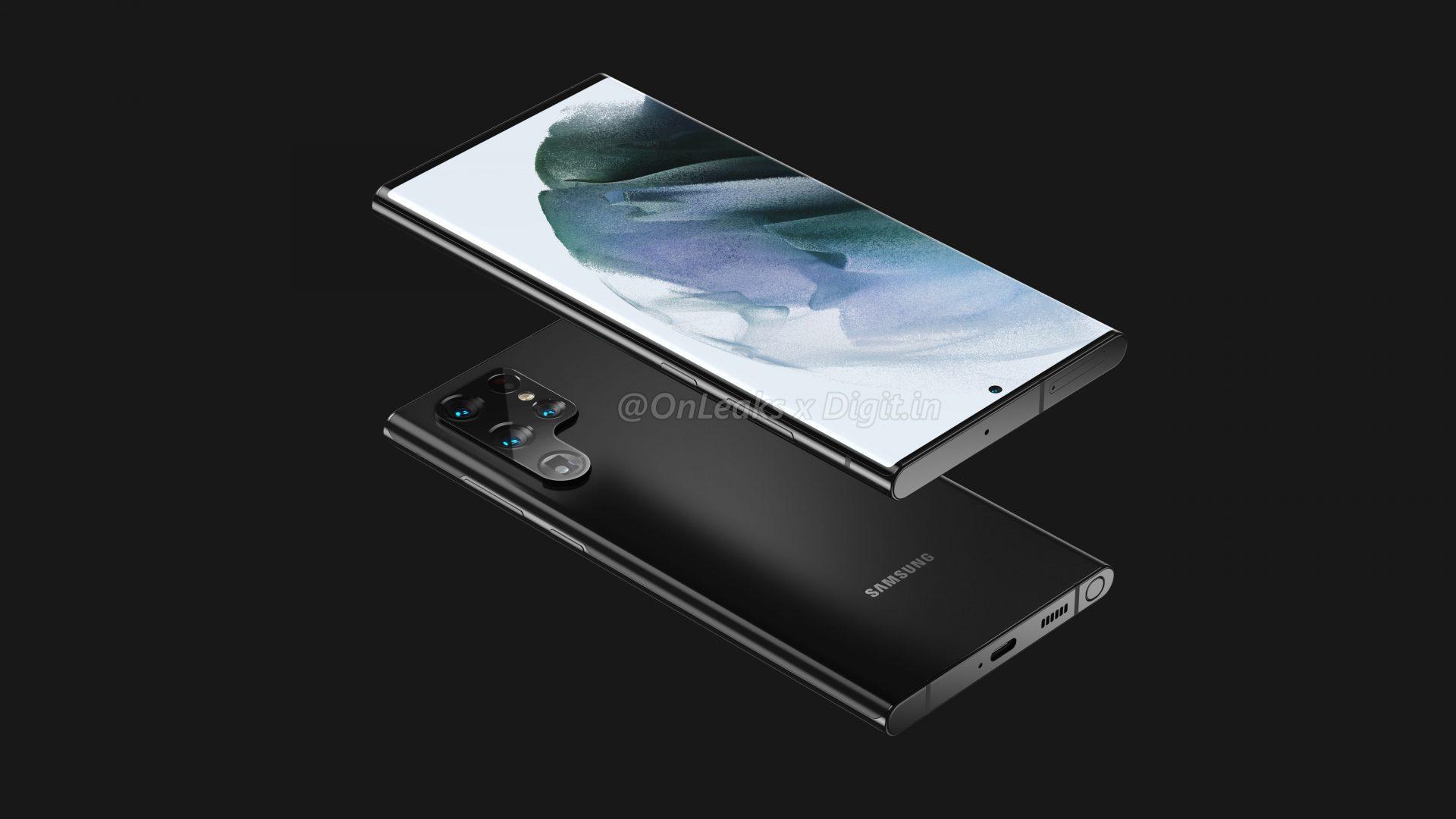 """Samsung Galaxy S22 Ultra sarà il """"nuovo"""" Note? Ecco i nuovi render"""