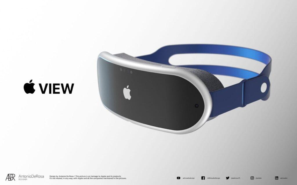 Apple visore AR